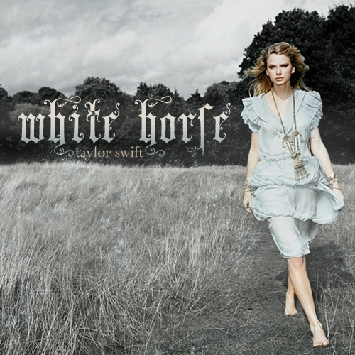 Taylor Swift Mean Single Cover. Swift 588x588. White Horse
