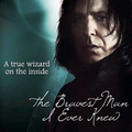 a true lizard - severus-snape fan art