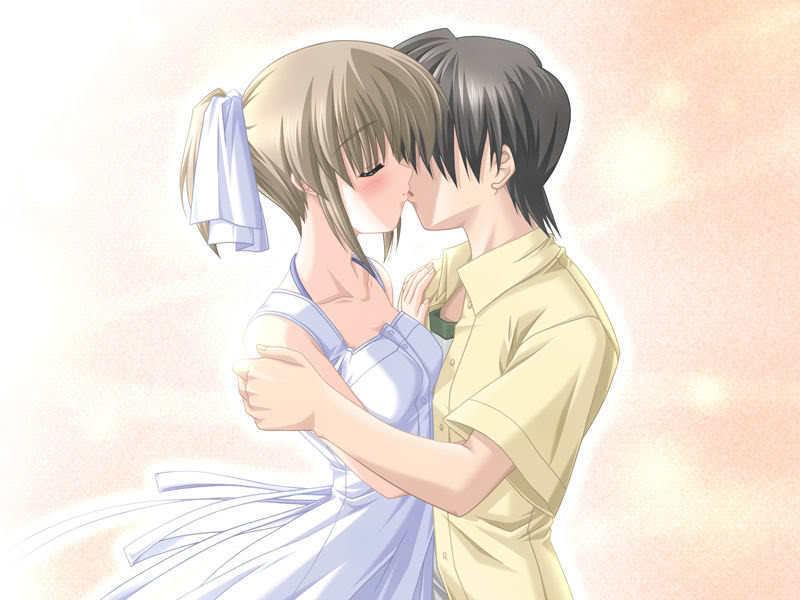 wallpaper kiss love. anime wallpaper kiss. love