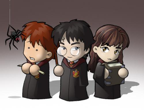 Harry Potter wallpaper titled chibi potter