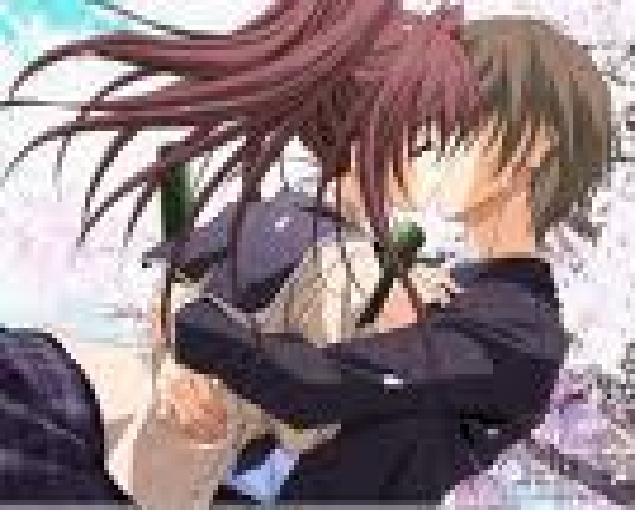 Anime101 cute high school kiss