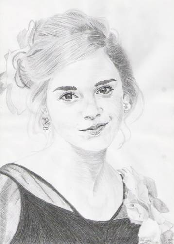 Hermione Granger wallpaper entitled drawing