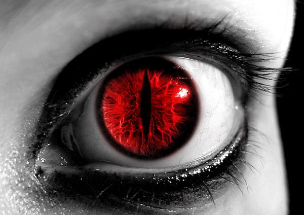 Eyes evil eye