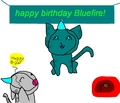 happy birthday Bluefire! - stormclan fan art