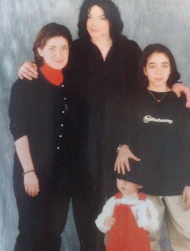 michael with omer and his mom