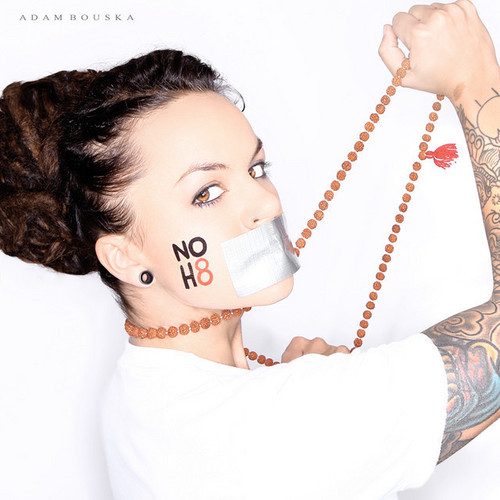 whitney - noh8 campaign
