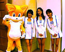 tails with girls