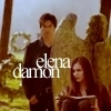 ♥  - damon-and-elena Icon