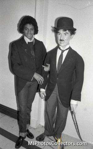 1979 Tony Prime (MJ As Chaplin) michael Jackson photoshoot