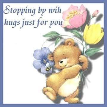A hug for you Berni