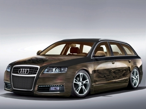 audi images audi a6 avant tuning wallpaper and background. Black Bedroom Furniture Sets. Home Design Ideas