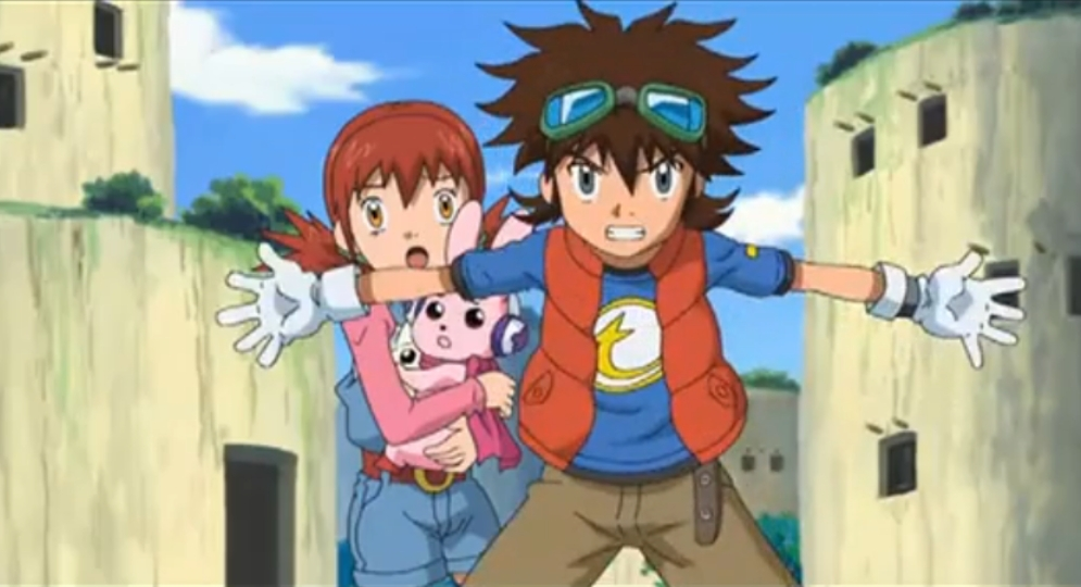 digimon taiki and akari relationship