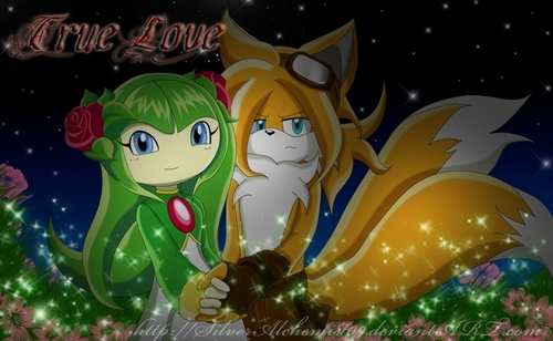 Tails and Cosmo wallpaper titled Amazing Taismo Picture