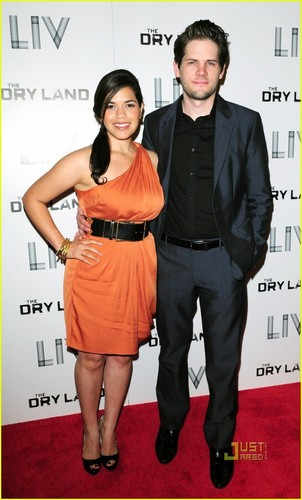 America Ferrera & Ryan Piers Williams: 'Dry Land' Lovebirds