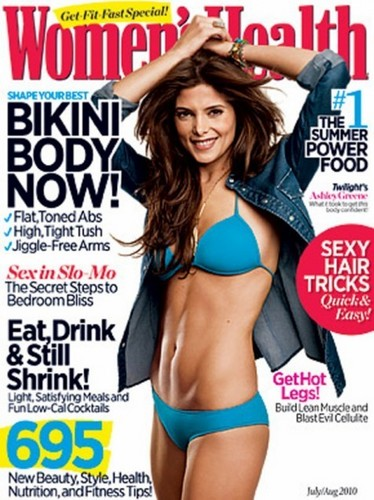 Ashley's cover of Womens Health