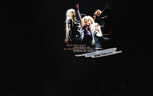 Avril rocks.
