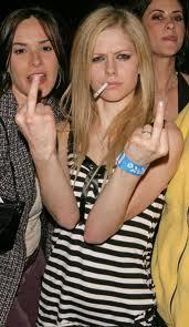Avril smoke..
