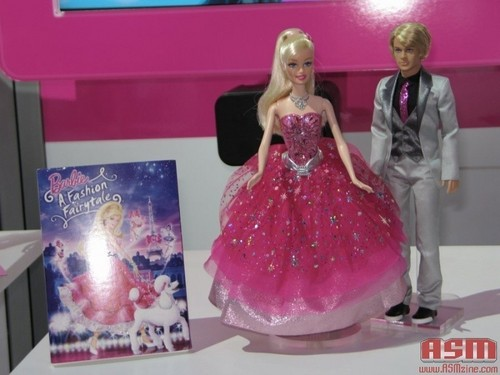 Barbie A Fashion Fairytale dolls & cover promo