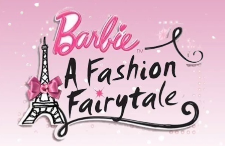 Barbie A Fashion Fairytale logo!