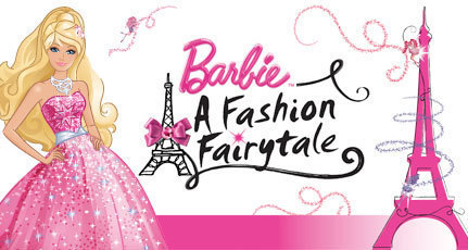 Barbie A Fashion Fairytale logo
