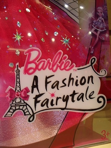 Barbie A Fashion Fairytale logo from doll box!