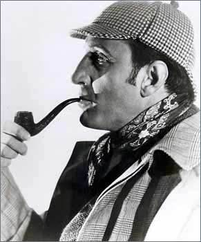 Sherlock Holmes 壁纸 called Basil Rathbone