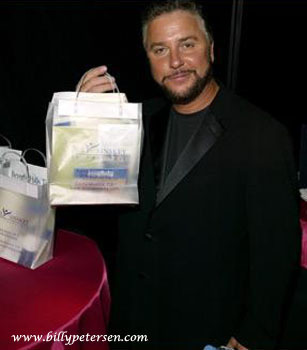 Billy and his goodie bag