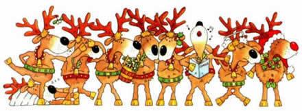 krisimasi Reindeer picha