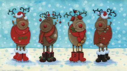 christmas images christmas reindeer images wallpaper and background photos - Christmas Reindeer Pictures