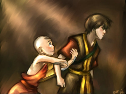 Dance with me!! - avatar-the-last-airbender Fan Art