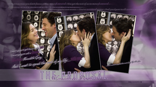 Derek & Meredith: The Proposal