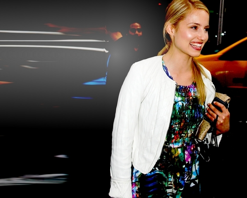 Glee wallpaper entitled Dianna