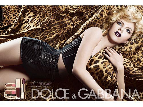 Dolce and Gabbana Fall 2010 Make up Campaign