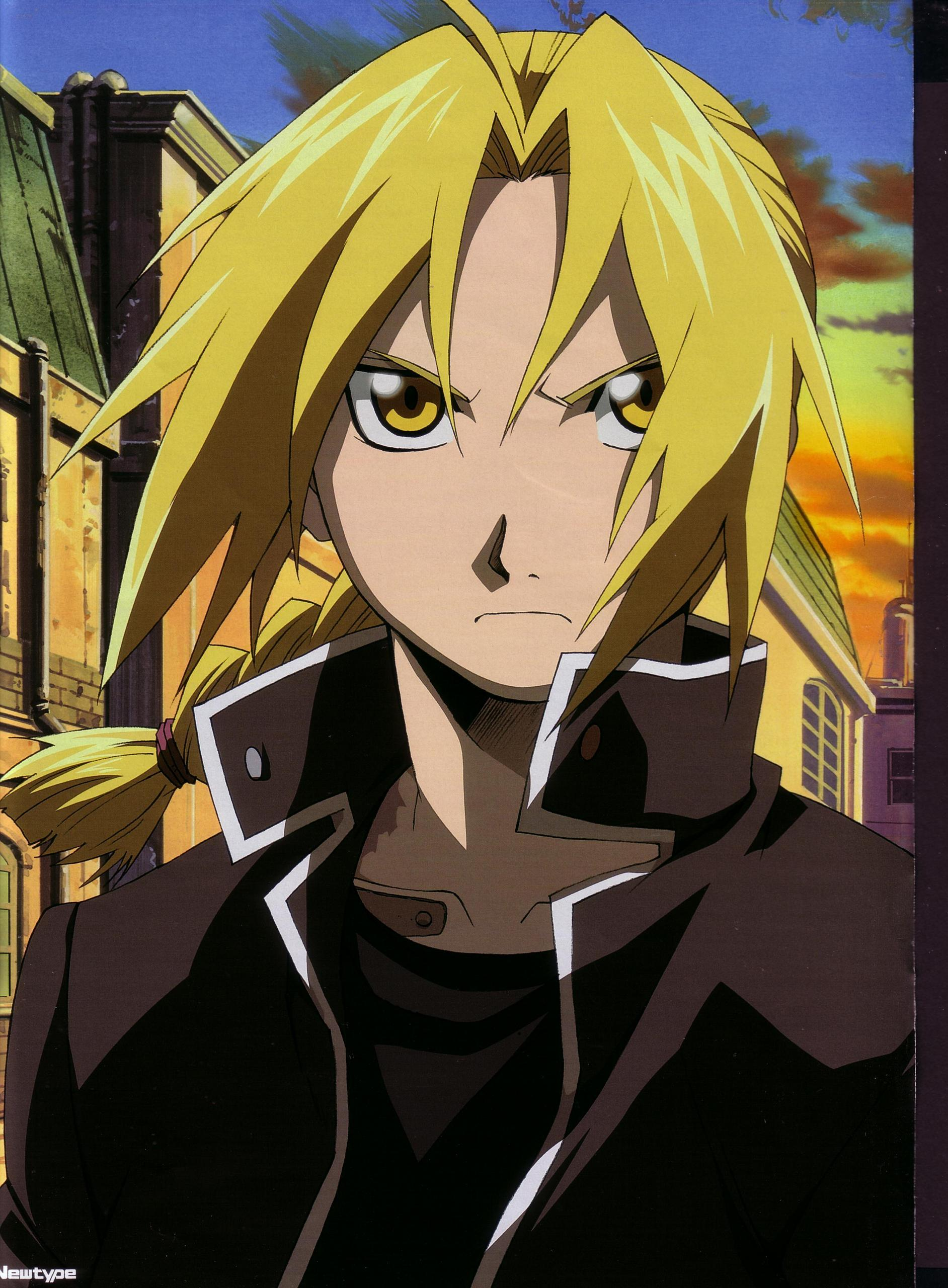 Wallpapers Digital Cute: Fullmetal Alchemist: Elric Edward ...