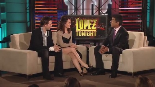 Elizabeth and Peter on Lopez Tonight