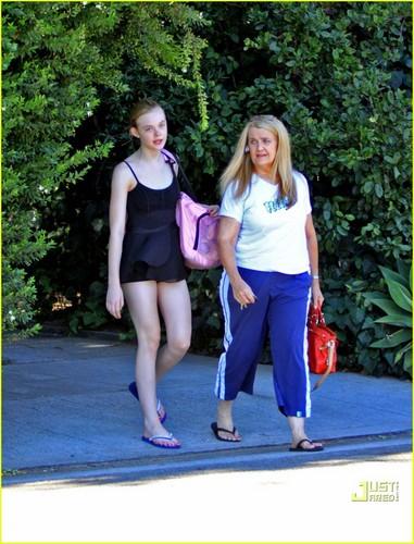 Elle Fanning in Studio City (August 19)