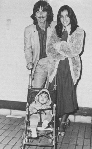 George, Oliva and Dhani