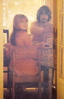 George Harrison wallpaper entitled George and Jane Asher
