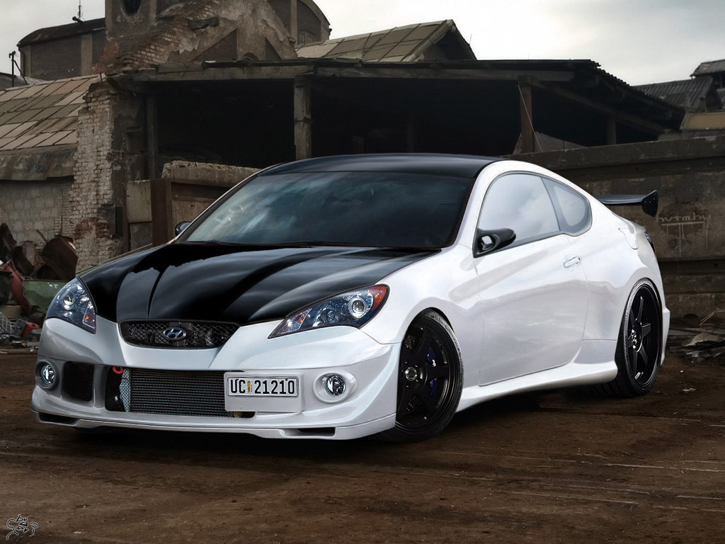 Hyundai Images Hyundai Genesis Coupe Tuning Hd Wallpaper And