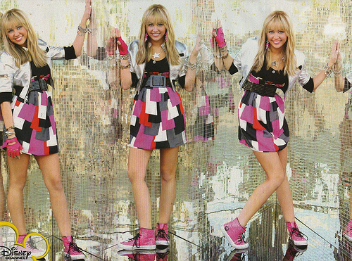 Hannah Montana wallpaper titled Hannah Montana 3 Shoot