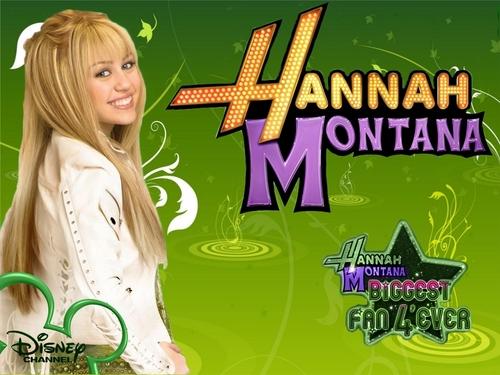 Hannah Montana Biggest Fan 4'ever