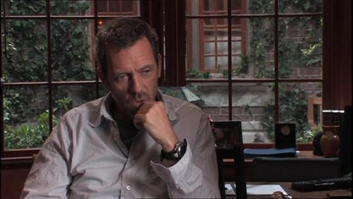 Hugh Laurie in the 'New Beginnings' Featurette - hugh-laurie Screencap