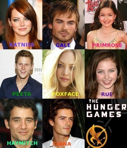 Hunger Games Dream Cast!