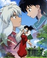 Inuyasha and Kagome - inuyasha-and-kagome-forever photo