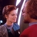 Jadzia and Worf - star-trek-couples icon