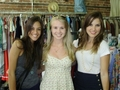 Jana and Sophia with a fan - jana-kramer photo