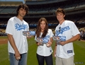 Jessica @ The Dodgers Game - jessica-lowndes photo