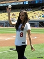 Jessica @ The Dodgers Game