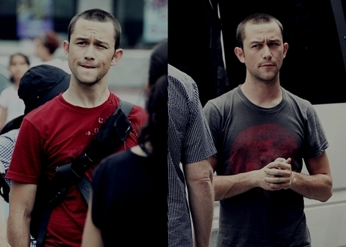 Joe on -Premium Rush- Set