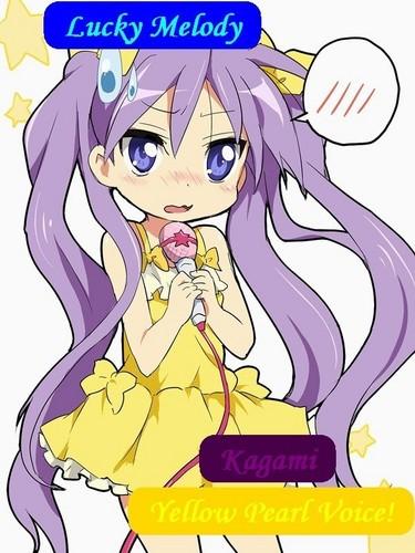 Kagami Yellow Pearl Voice!